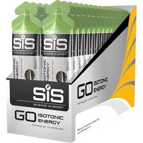 SiS GO Isotonic Energy Gel Caja 30x60ml, Apple